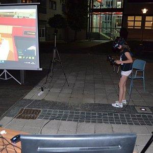 VR Osijek outside