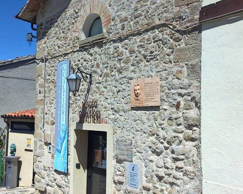 Esterno della sede del museo Gualtieri