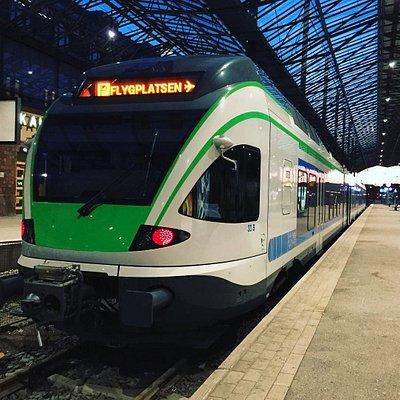ヘルシンキ空港からヘルシンキ中央駅まで30分。