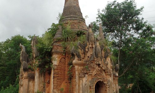 Temples at In Dien