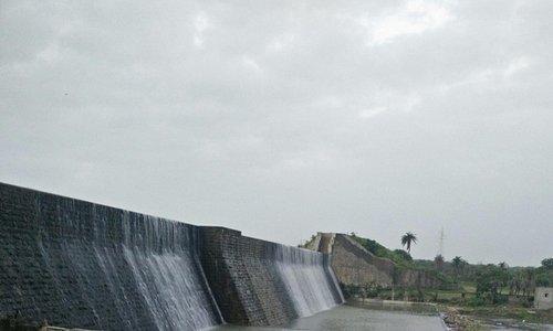 Sasoi Dam at Dawn