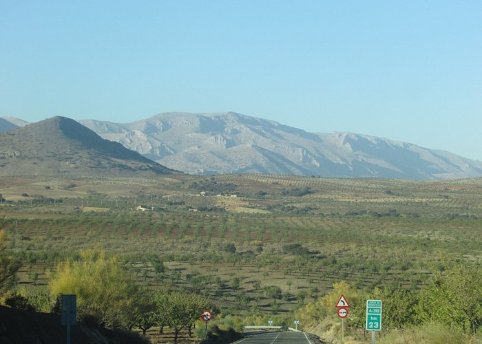 On the way from Oria to Chirivel