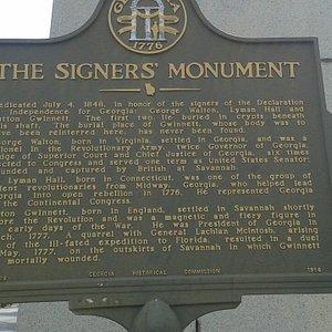 Signer's Monument