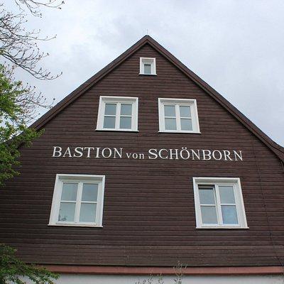 Die Bastion ist ein Restaurant, im 1. OG befindet sich das Flößerzimmer.