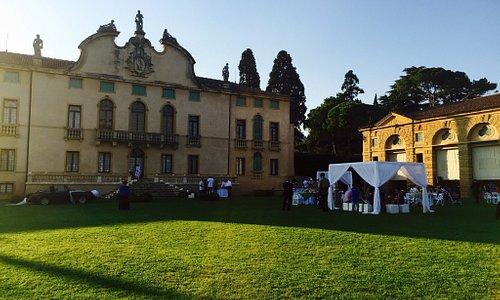 Una delle location: Villa di Montruglio a Mossano (VI)