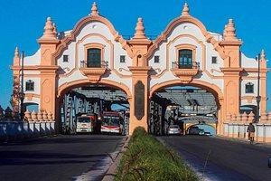 Un puente que es ícono del Sur de Buenos Aires