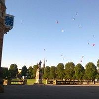 Ballon Fiesta At Clifton College