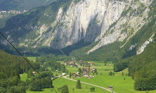 the valley from the Gondola