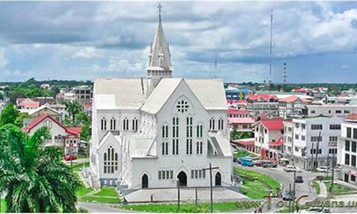 The St George's Cathedral – Georgetown Guyana