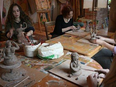 Clay Goddess Making Workshop