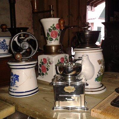 Koffiemolens in de Koffieleut