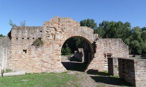 De ruïnes van Abdij Ten Duinen