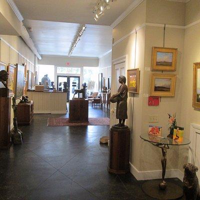 Gallery full of art