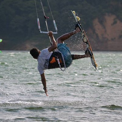 Lake Calima, Kite Planet Colombia School and Shop
