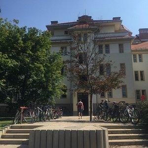 Main Building of Debrecen University