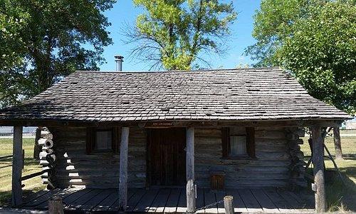 An old log dwelling