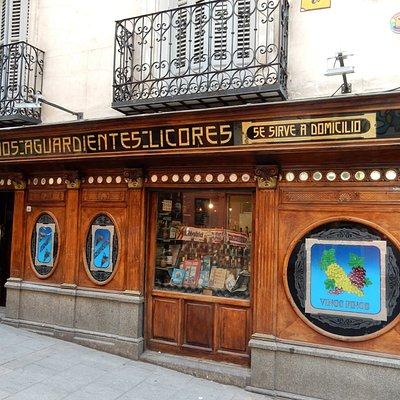 Bottiglieria antica sulla Plaza de Chueca