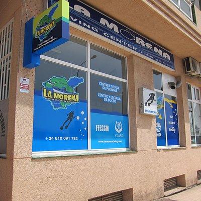 façade du local