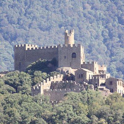 visita del castillo desde la pista