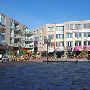 Some of the flats and resturants in Zoetermeer
