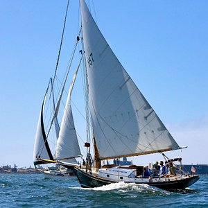 Perfect San Diego afternoon sail