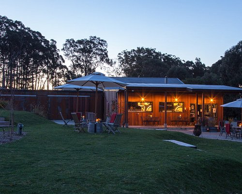 Beautiful at night as well, great for private functions