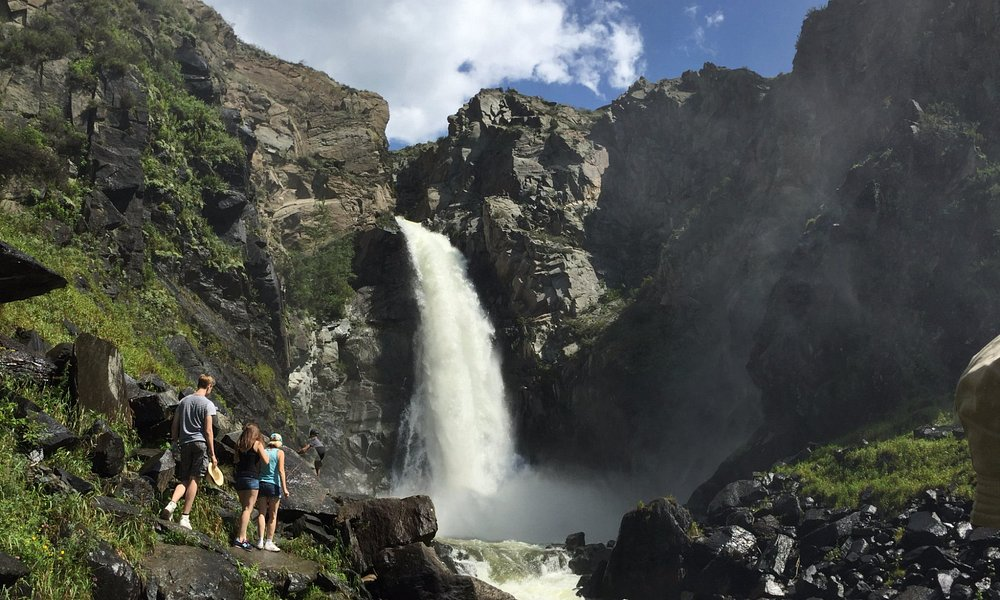 Водопад на Кату-Ярыке