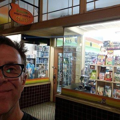 Storefront. Nice little card shop.