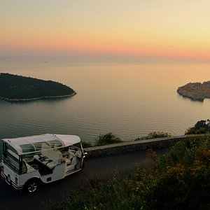 Sunset with Eco Tuk Tours Dubrovnik