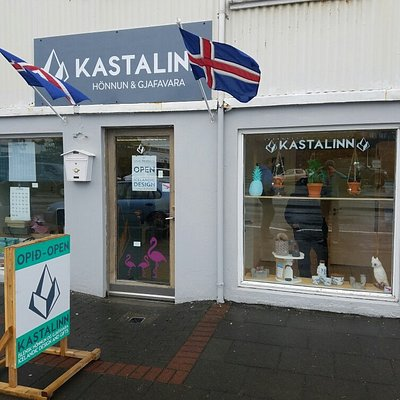 This young Icelandic entrepreneur has a wonderfully unique shop. She has assortment of gifts for