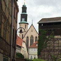Gerberviertel mit Kornmarktkirche