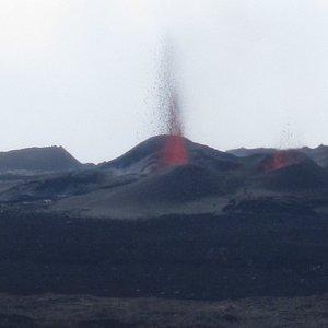 Eruption Piton de la fournaise enclos Fouquet
