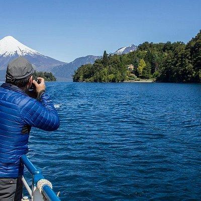 Navegando Lago Todos Los Santos - Chile