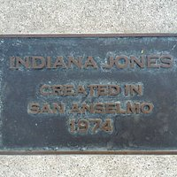 Plaques for Indiana Jones and Star Wars