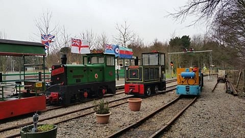 Our Three Resident Locomotives