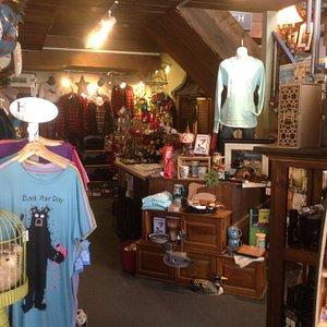 Interior of store