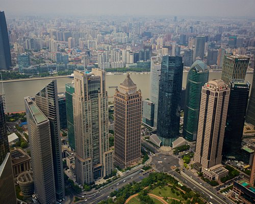 View from Jin Mao Tower