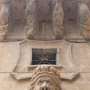 Particolare Palazzo Beneventano