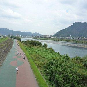 高橋尚子ロード片道2.5km