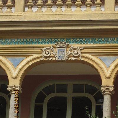 Balcony detail - Hotel Pams