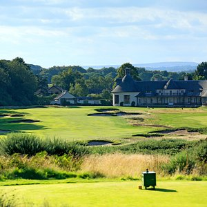 Alwoodley clubhouse from 18th