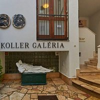 Gallery entrance in the yard