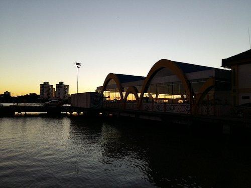 Pier Turísco de Itajai-amanhecer