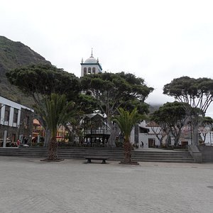 Glorieta San Francisco, Plaza de la libertad, Garachico, Tenerife