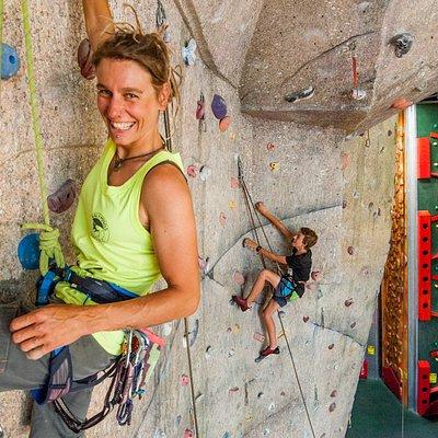 Basecamp Wanaka's Sport Climbing Wall