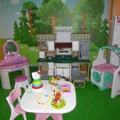 Игровые зоны для детей