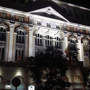 Teatro Maria Guerrero de noche