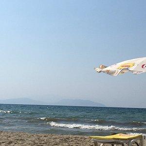 Güzel bir halk plajı