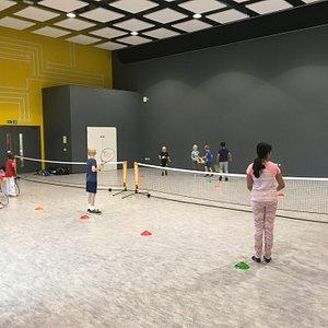 Indoor Tennis at Leigh UTC Dartford