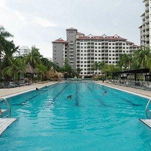 The Pool at the Glory Beach Resort